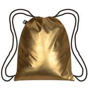 LOQI - Metallic Matt Collection Gold Backpack