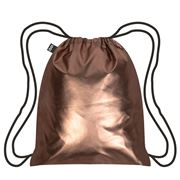 LOQI - Metallic Matt Collection Rose Gold Backpack