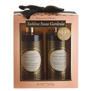 Mor - Sublime Snow Gardenia Gift Set 2pce