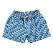 Love Brand - Boy's Friendly Fins Swim Shorts 7-9 Years