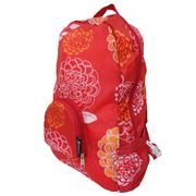 Envirotrend - PAKitToMe Compact Backpack Red Bloom
