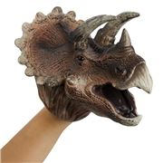 Johnco - Triceratops Hand Puppet