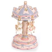 Gibson Baby - Mauve Carnival Carousel Small