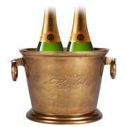 Cafe Society - Merlot Ice Bucket Brass