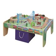 MAXIM - Train Set with Play Table 50pce