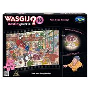 Games - Wasgij Destiny Fast Food Frenzy Puzzle 1000pc