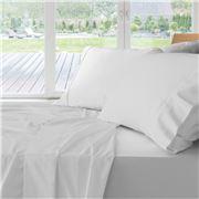 Private Collection - 500 TC Cotton White King Sheet Set