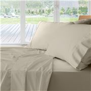 Private Collection - 500 TC Cotton Linen Q/Mega Sheet Set