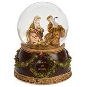 Roman Christmas - Fontanini Holy Family Musical Glitterdome