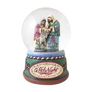 Heartwood Creek - Jim Shore Christmas Holy Family Water Dome