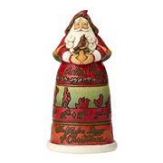 Heartwood Creek - Santa On The 12th Day of Xmas Figurine