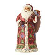 Heartwood Creek - Santa With Toy Bag Figurine