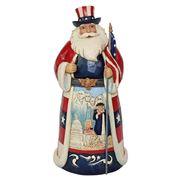 Heartwood Creek - American Santa Figurine