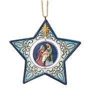 Heartwood Creek -  Nativity Star Ornament