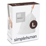 Simplehuman - Code L Custom Fit Liners 60pk