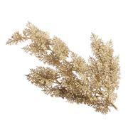 Katherine's Collection - Gold Glitter Cedar Spray