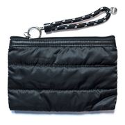 Prene Bags - Windsor Clutch/Purse Puffer Bag Black