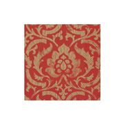 Caspari - Baroque Cocktail Napkins Red 20pce