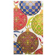 Caspari - Imperial Ornament Ivory Guest Napkin Towel 15pce