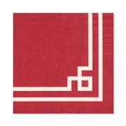 Caspari - Rive Gauche Lunch Napkins Red 20pce