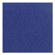 IHR - Cameo Uni Lunch Napkins Dark Blue 16pce