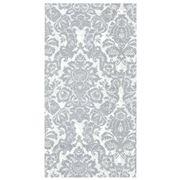 IHR - Palais Guest Towels White/Silver 16pce