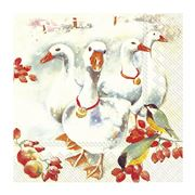 IHR - Winter Goose Lunch Napkins 20pce
