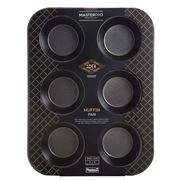 MasterPro - Non-Stick 6 Cup Muffin Pan