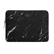 Wouf - Laptop Sleeve Black Marble