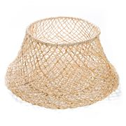 Papaya - Cicely Wide Woven Basket Large