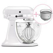 KitchenAid - Platinum KSM170 F. Pearl Mixer w/Ice Cream Bowl