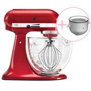 KitchenAid - Platinum KSM170 C. Apple Mixer w/Ice Cream Bowl