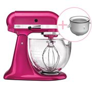 KitchenAid - Platinum KSM170 Ras. Ice Mixer w/Ice Cream Bowl