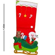Peter's - Giant Xmas Stocking Red Sleigh
