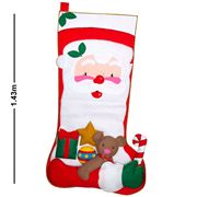 Adrienne & Misses Bonney - Giant Stocking Santa w/Bear