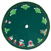 Peter's - Ho Ho Train Xmas Tree Skirt