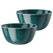 Rosenthal - Junto Cereal Bowl Set Ocean Blue 2pce