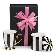 Peter's Hamper - Ebony Stripe Hamper