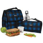 Packit - Freezable Lunch Bag Navy Buffalo