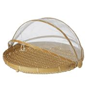 Davis & Waddell - Collapsible Food Cover w/Bamboo Tray 37cm