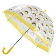 Bugzz - Rainbow Kids' Birdcage Umbrella Yellow