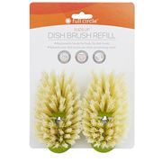 Full Circle - Suds Up Dish Brush Refill Green 2pce