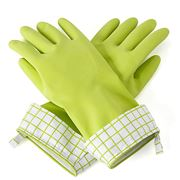 Full Circle - Natural Latex Cleaning Gloves Green Large