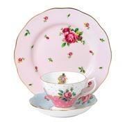 Royal Albert - Modern Vintage New Roses Pink Set 3pce