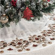 Infingo - Jewel Ivory Tree Skirt