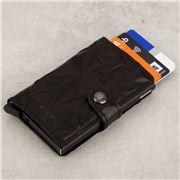 Secrid - Prism Leather Black/Black Mini Wallet