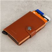 Secrid - Vegetable Tanned Leather Caramello Mini Wallet