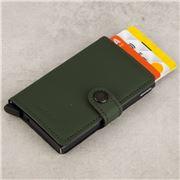 Secrid - Leather Matte Green Mini Wallet