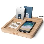 Walter Wallet - Walter Bamboo Wireless Phone Charging Dock