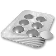 USA Pan - 6 Cup Mini Cheesecake Pan